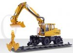 Atlas 1604 wheeled excavator rail