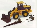 Caterpillar 924G Versalink Wheel Loader with Work Tools
