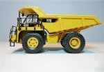 Norscot Caterpillar 772 dump truck BOX worn