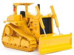 Caterpillar D10 with Push Blade and ROPS