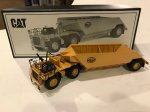 Caterpillar 776 Tractor w/ Mega Bottom Dump Trailer 1/87