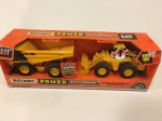 Matchbox Caterpillar wheel loader dump truck set