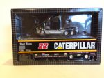 Kenworth Caterpillar race car hauler