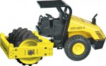 Bomag BW213 with ROPS Sheepfoot Roller