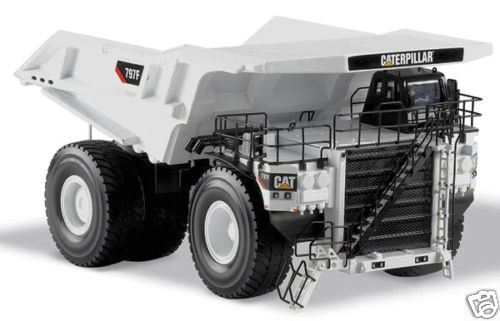 Norscot Caterpillar 797F Quarry Truck WHITE - Click Image to Close