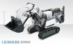 Conrad Liebherr R9800 Front Shovel - Click Image to Close
