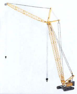 Conrad Liebherr 1280 Lattice Boom Crane on Tracks - Click Image to Close