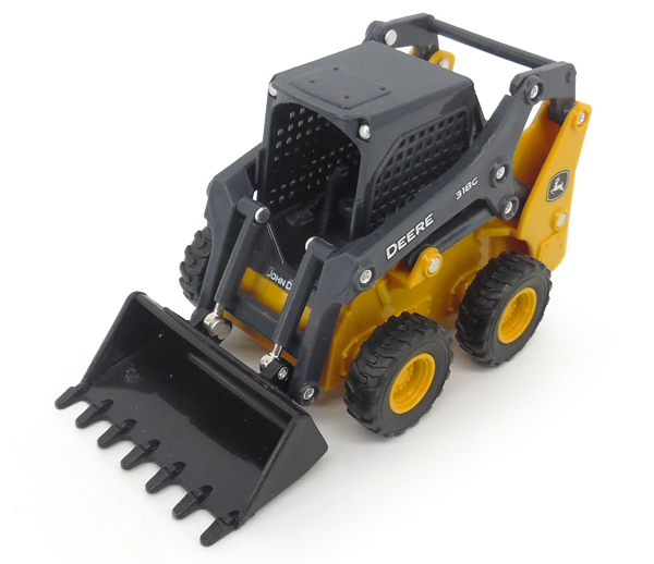 Ertl John Deere 318G Skid Steer - Click Image to Close